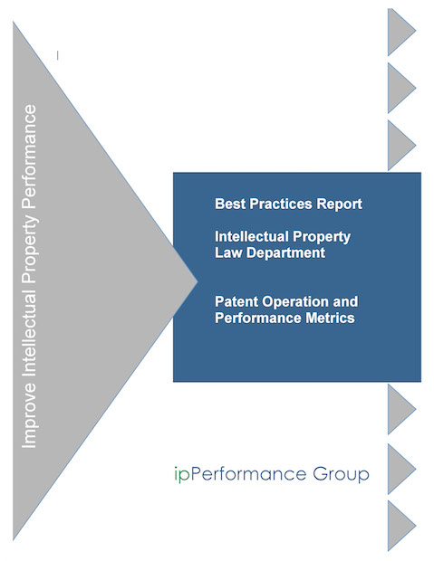 Intellectual Property Law Department Patent Operations Report