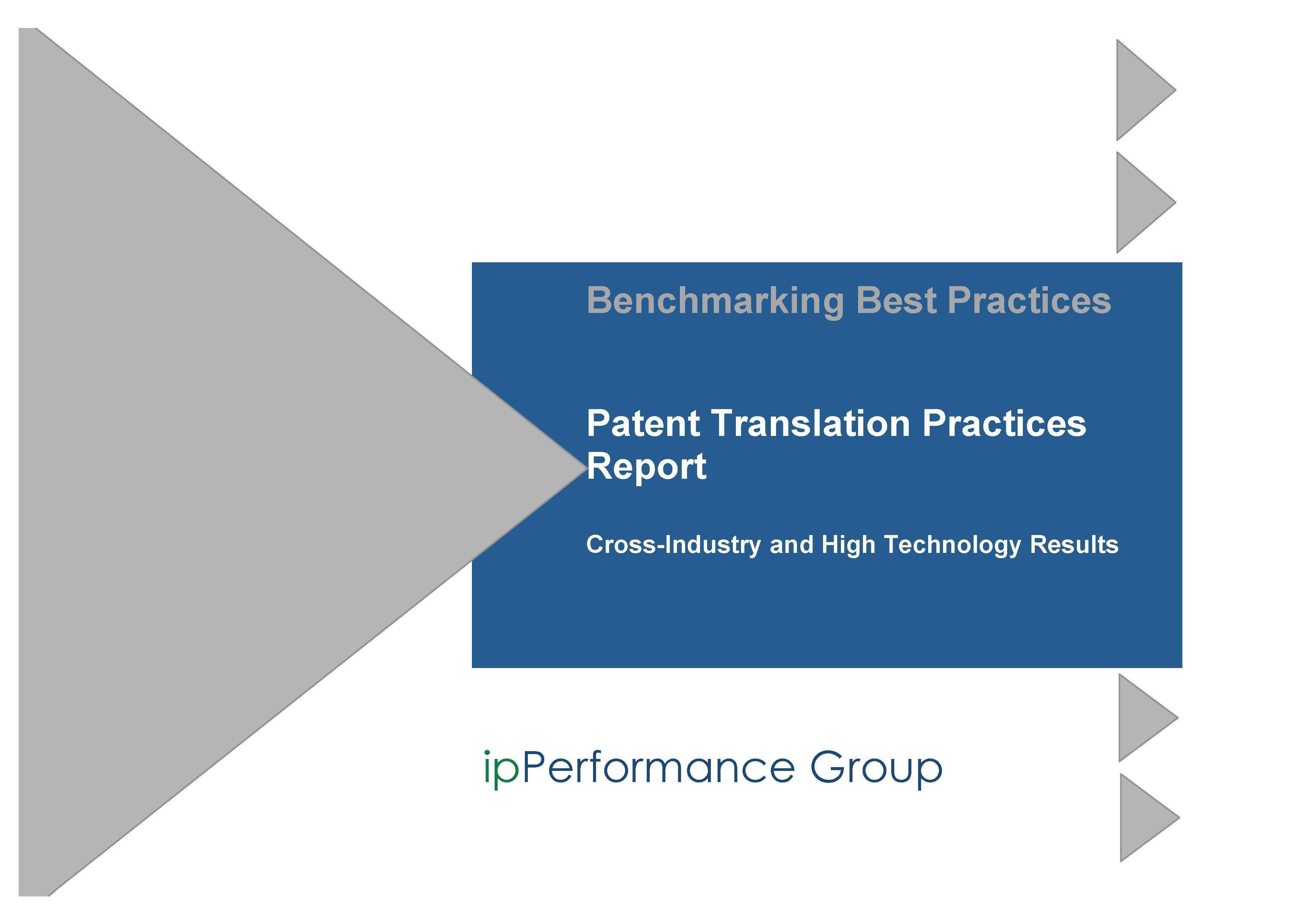 Patent Translation Practices