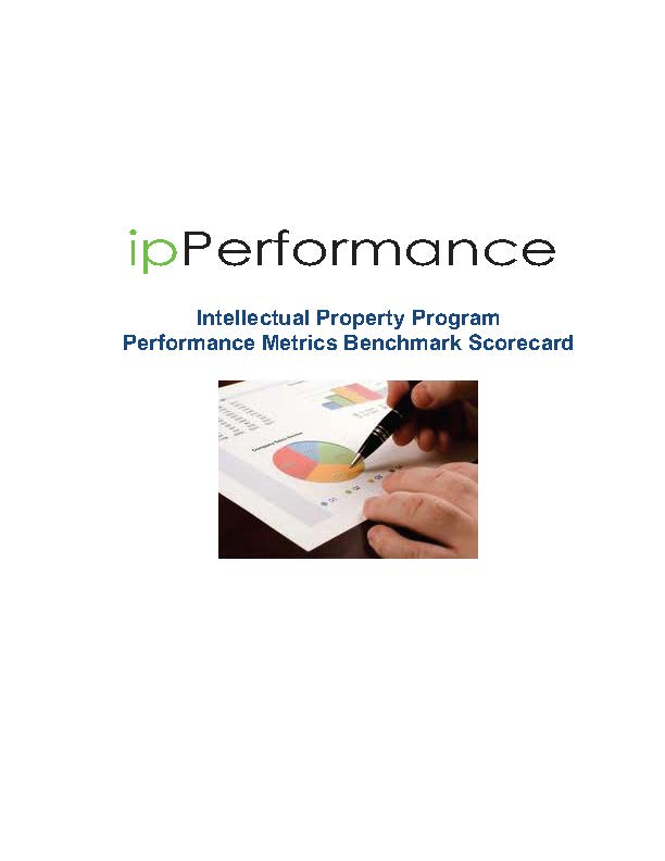 Intellectual Property Program Performance Metrics Scorecard